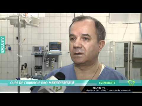 Curs de chirurgie oro-maxilo-faciala