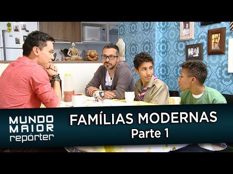 Mundo Maior Repórter - Famílias Modernas - Parte 1/4 (09/08/2014)