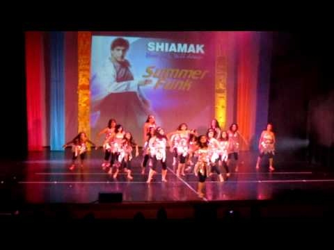 shiamak's london summer funk 2011 - retro funk