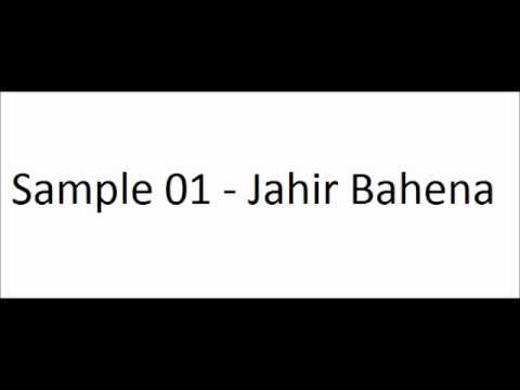 Sample 01 - Jahir Bahena by Jahir Bahena