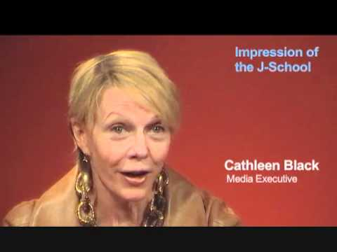 Cathleen Black: Her Impression of the J-School