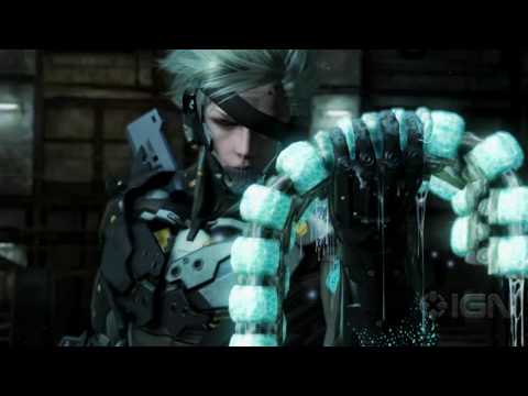 Metal Gear Solid: Rising - Slicing Gameplay view on youtube.com tube online.