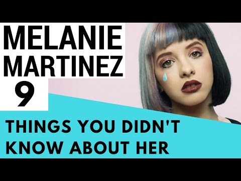 9 Facts About Melanie Martinez That You Didn't Know!