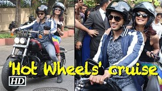 Sidharth-Jacqueline with 'Hot Wheels' cruise Mumbai Street - BOLLYWOODCOUNTRY