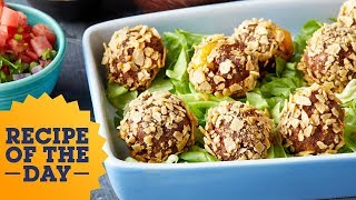 Cheesy Stuffed Taco Meatballs | Food Network - FOODNETWORKTV