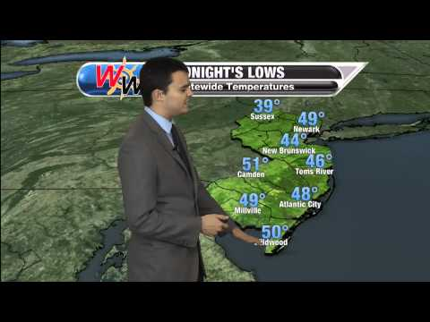 April 18th 2015 evening forecast
