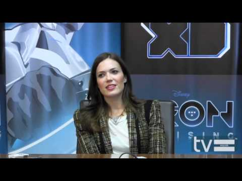 TRON: Uprising (Disney XD): Mandy Moore Interview
