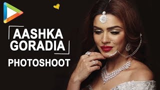 Aashka Goradia Exclusive Photoshoot for Orra's Falaq Bridal collection - HUNGAMA