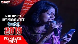 Madhu Priya Live Performence @ Operation 2019 Pre Release Event || Srikanth, Deeksaha Panth - ADITYAMUSIC