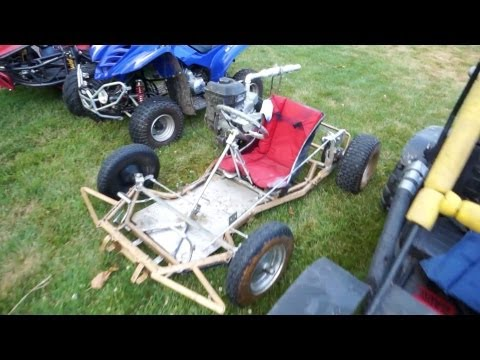 Top Speed Home Made Go-kart (1080p)