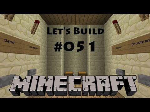 Minecraft - Let's Build #051 - Lagersystem [Deutsch] [HD]