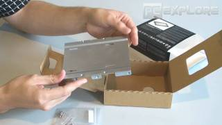 Intel X25-V SSD unboxing review and test (russian)