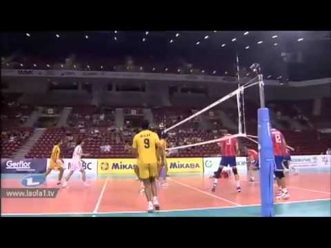 Pakistan vs France Volleyball match 2012