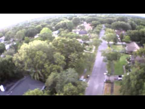 AR.Drone 2.0 Video: stock configuration at 100ft over head for almost 4 minutes
