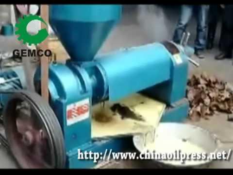 Screw Oil Press Design, Small Oil Press Machine
