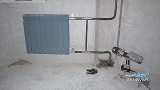 Viega MegaPress монтаж радиатора отопления