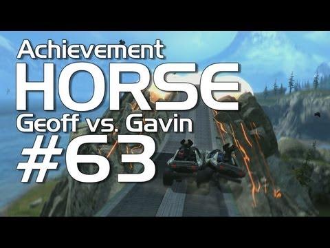 Halo: Reach - Achievement HORSE #63! (Geoff vs. Gavin)
