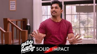 Naa Peru Surya Naa Illu India Solid Impact Promo 01 | Allu Arjun, Anu Emmanuel | Vamsi - TFPC