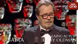 Gary Oldman wins Leading Actor BAFTA - The British Academy Film Awards: 2018 - BBC One - BBC