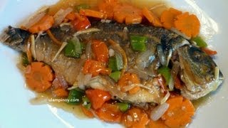 How to cook Sweet and Sour Fish (Escabeche) – Ulampinoy