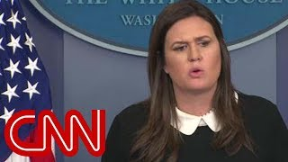 Sarah Sanders asked why Michael Flynn isn't a 'rat' - CNN