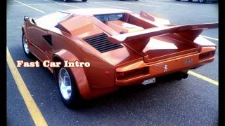 Royalty Free :Fast Car Intro