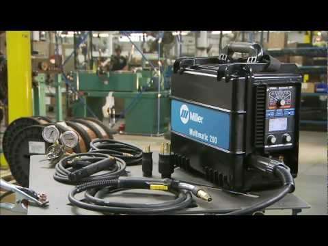 Introducing the Multimatic™ 200 MIG/TIG/Stick Welder