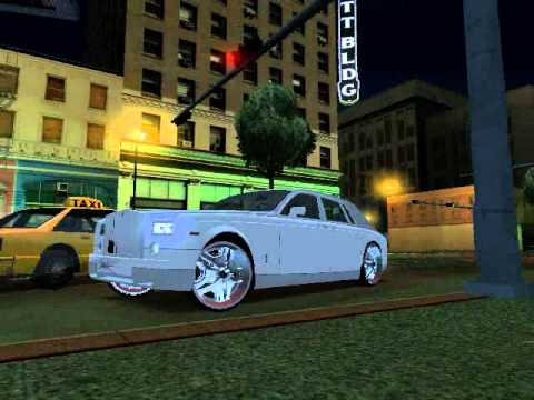 GTA San Andreas-DONK Rims on Rolls Royce Phantom