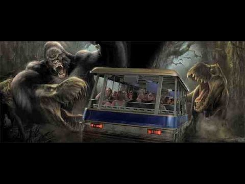 King Kong 360 3-D Studio Tour HD Universal Studios Hollywood HD