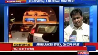 Bengaluru : Ambulances To Wait So That Minister Have Hassle Free Passage - TIMESNOWONLINE
