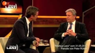 Lanz vs. Wowereit: Der Berliner Flughafen (Rütten Parodie vom 17.01.2013)