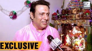 Govinda Celebrates Ganesh Chaturthi With Lehren | LehrenTV