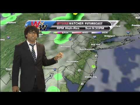 Sunday September 21 Morning Forecast