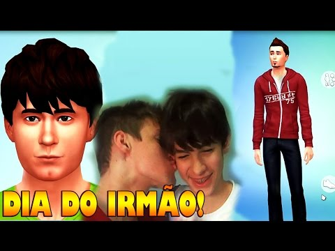 DIA DO IRMÃO!! THE SIMS 4!! REZENDE E JOÃO!