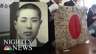 Man Travels 10,000 Miles To Return Flag To Fallen Soldier's Family | NBC Nightly News - NBCNEWS