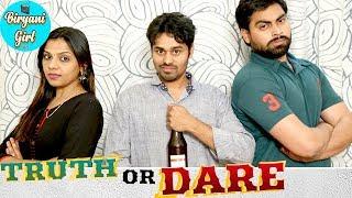 Truth Or Dare | Husband Vs Wife Latest 2018 Telugu Comedy Short Film | Swathi Nuti | Comedy Videos - YOUTUBE