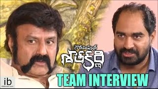 Gautamiputra Satakarni team interview - idlebrain.com - IDLEBRAINLIVE