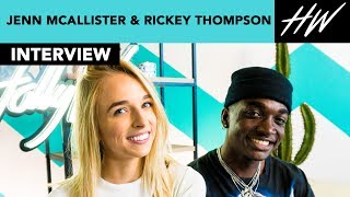 """Foursome"" Jenn McAllister and Rickey Thompson Admit They Went Skinny Dipping!! 