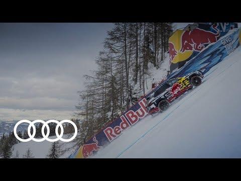 Autoperiskop.cz  – Výjimečný pohled na auta - Audi e-tron extreme:  Technický prototyp na legendární sjezdovce Streif