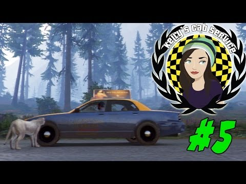 Kelly's Cab Service - ANIMALS! #5 (GTA V Gameplay)