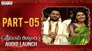Srinivasa Kalyanam Audio Launch Part 5 | Nithiin, Raashi Khanna | Mickey J Meyer | Dil Raju - ADITYAMUSIC