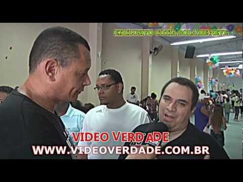 IGREJA BOLA DE NEVE DE COTIA & RENE DO RAP NO VIDEO VERDADE