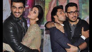 Deepika Kisses Arjun in front of Ranveer - IANSINDIA