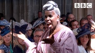 'Stand by Me' performed by Karen Gibson and The Kingdom Choir - The Royal Wedding - BBC - BBC
