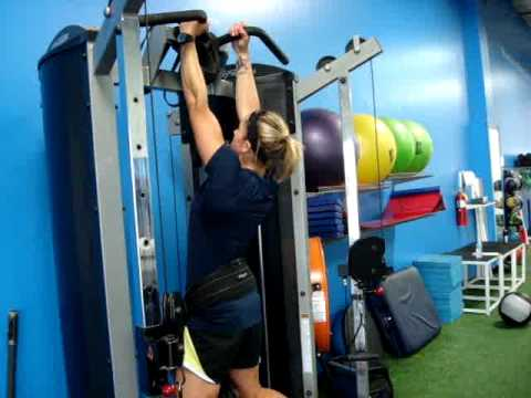 Weighted Neutral Grip Chin Ups
