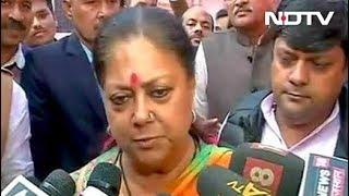 राजस्थान में आज हो रही है वोटिंग - NDTVINDIA