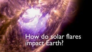 How Solar Flares Affect Earth - NASAEXPLORER