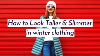 How to look taller & slimmer in winter clothing | Winter fashion tips - ZOOMDEKHO
