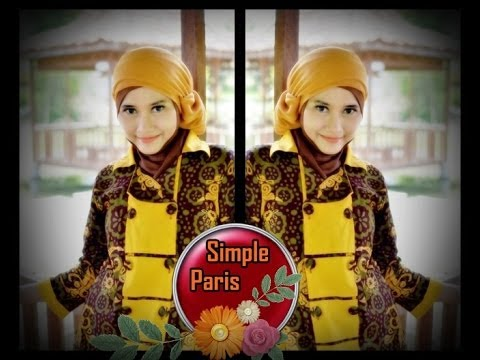 Paris Hijab Modern for Party, Graduation and Casual Events | Sleek Style by Didowardah - Part #32