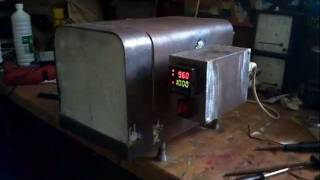 Homemade Electric Kiln furnace oven